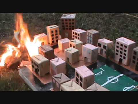 Maquetas Desastres Naturales 10 .E Sociales 2012