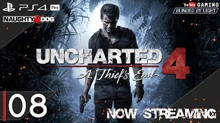 Uncharted 4: A Thief's End | LIVE STREAM 08 | Let's Play | The End
