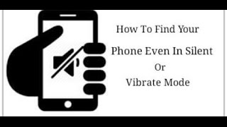 Find Your Phone When It