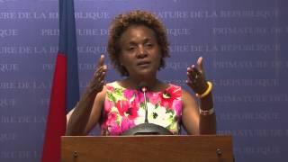 VIDEO: Haiti - Rankont Laurent Lamothe ak Michaelle Jean sou pwojè pou chanje figi Cap-Haitien
