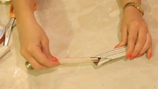 Origami Chopstick Crafts : Kids' Crafts & More
