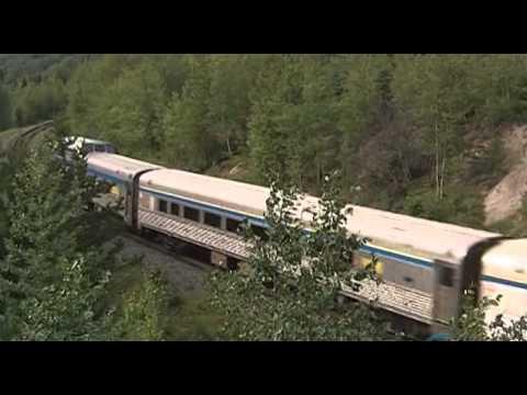 Железные дороги мира. Канада