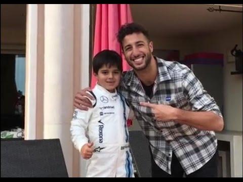 Felipinho Massa vs Daniel Ricciardo