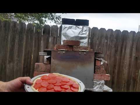 Deep Dish Pizza in Brick Oven