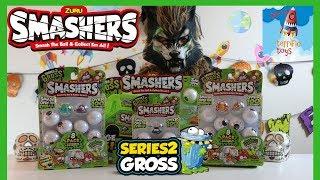 Zuru Smashers Series 2 Gross | Smashers Sludge Bus | HAPPY HALLOWEEN!