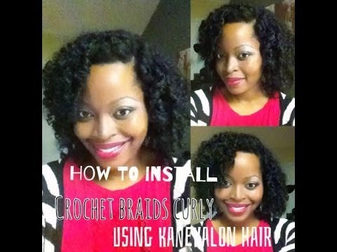 Crochet Braids Curly: Full Tutorial   Natural hair Protective style   Msnaturallymary