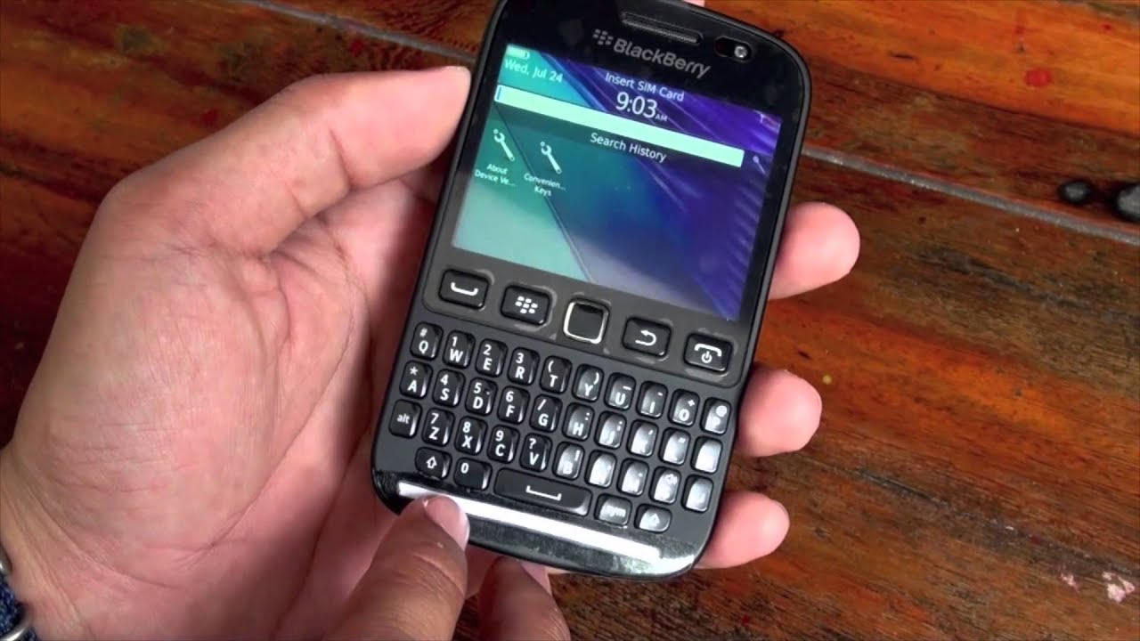 Tren tay BlackBerry 9720