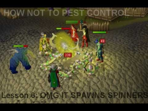 How Not To Pest Control (AAIDRSCAL Clan Event)