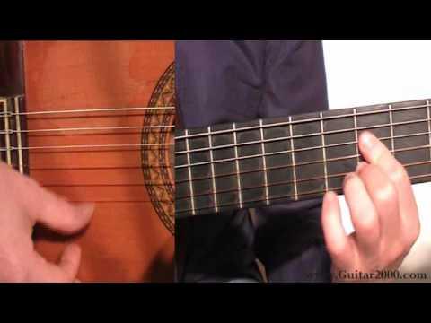 Aprender guitarra flamenca ejercicio de bulería para bulería Parte II