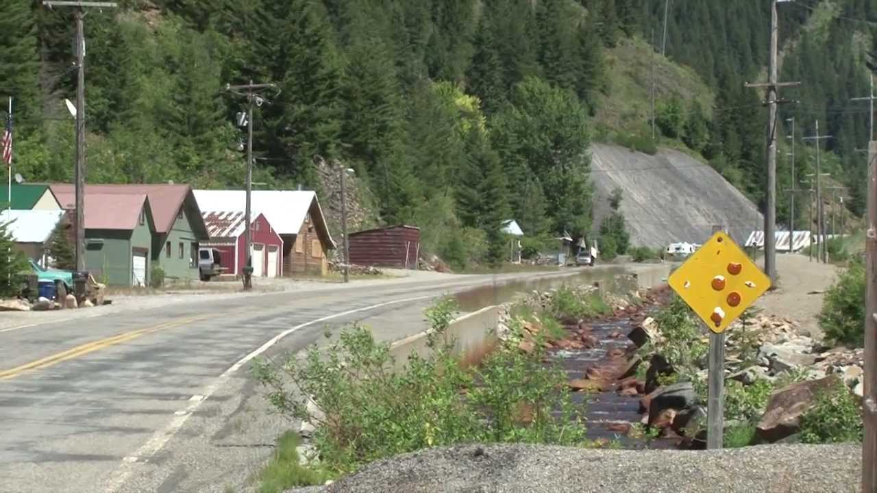 The silver valley wallace to burke canyon road tour part for Burke and wallace silversmiths
