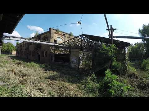 Abandoned slaughterhouse (Schlachthof) Germany August 2019 with Gopro Hero5