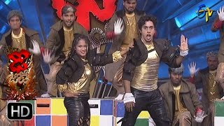 Himanshu and Archi Performance | Dhee Jodi | 22nd March 2017 | ETV Telugu