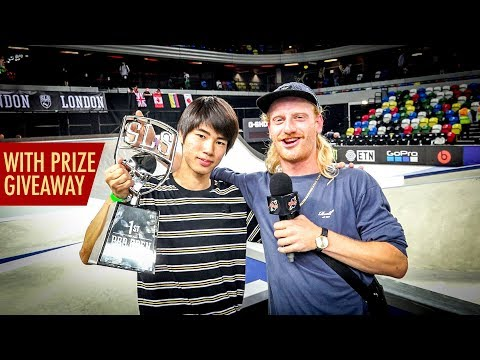 SLS London Pro Open MEN Finals (Yuto Horigome, Nyjah Huston, Vincent Milou)