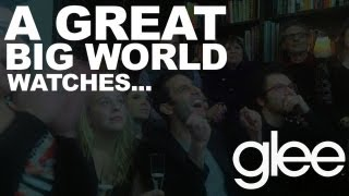 "A Great Big World Watches ""This Is the New Year"" on Glee"