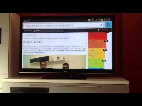 Conectar Samsung Galaxy Note 2 a la tv