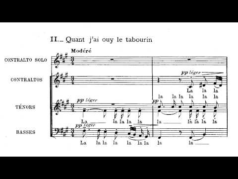 Дебюсси Клод - Trois Chansons