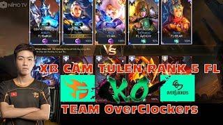 XB Cầm Tulen Rank 5 Cùng Team Flash Đối Đầu  Team OverLockers