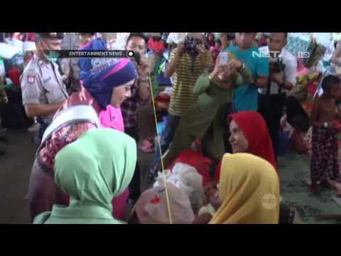 Puteri Indonesia 2015 kunjungi pengungsi Rohingya di Aceh