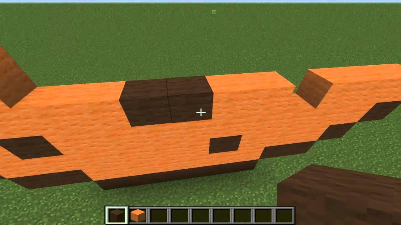 Minecraft - Как построить печенье - YouTube