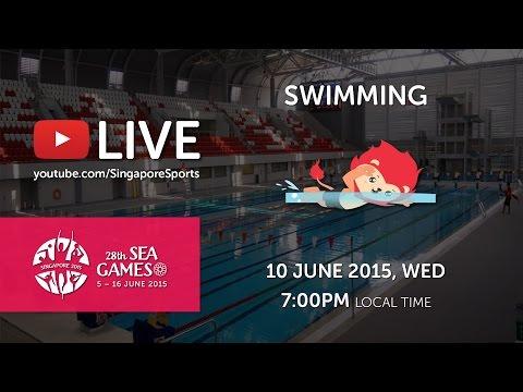 Swimming (Day 5) | 28th SEA Games Singapore 2015