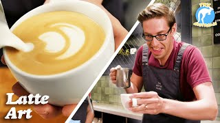 The Try Guys Coffee Art Competition • Try Australia