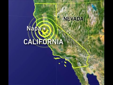 Northern California rocked by Richter magnitude scale 6 earthquake