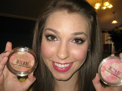 Milani Illuminating Face Powder!! Review and Swatches!