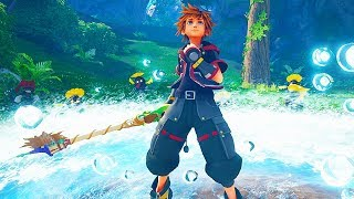 KINGDOM HEARTS 3 - 29 Minutes of Gameplay So Far (PS4 XBOX ONE) Kingdom Hearts III Gameplay Trailers