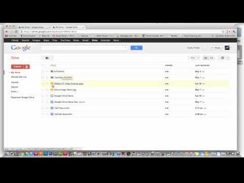 Google Docs 2012 Beginners Tutorial