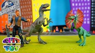 Los Dinosaurios de Jurassic World llegan a City Toy