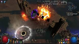 Path Of Exile - Fireball / Magma Orb Elementalist Shaper Run (3.2)