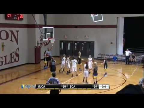 Girls Basketball- MJCA vs Zion Christian Academy - 12/06/2012