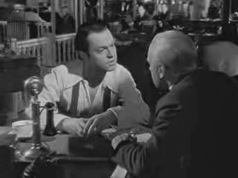 Citizen Kane - How To Run A Newspaper