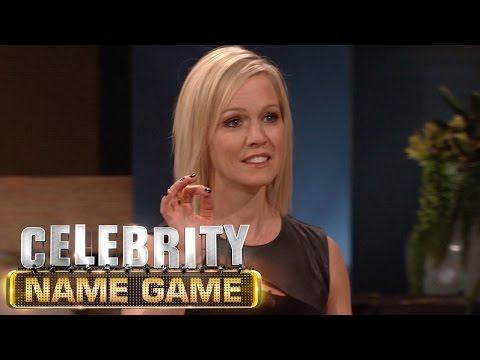 Jennie Garth Is A Cheater - Celebrity Name Game