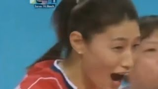 Genius Kim Yeon-koung (Volleyball Thailand - South Korea) Asian Games2014