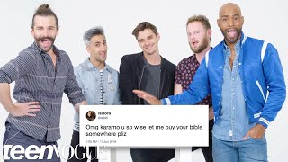Queer Eye Cast Compete in a Compliment Battle | Teen Vogue