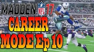 Madden 17 Career Mode Ep 10 - ONE OF THE SICKEST RUNNING PLAYS YOU