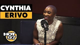 Cynthia Erivo Responds To Backlash Over Her Role As Harriet Tubman + Talks EGOT & Aretha Franklin