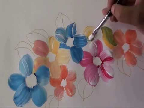 fabric painting tutorial 2 youtube