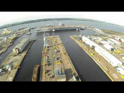 Float Up and Move of HMS Queen Elizabeth