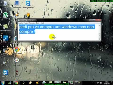 Tutorial, Windows 7 erro 7601