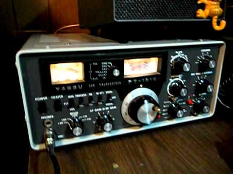 Yaesu FT 101E HF ham radio