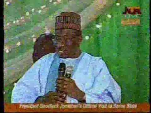 PRESIDENT Goodluck Jonathan's challenges Borno elders in Maiduguri