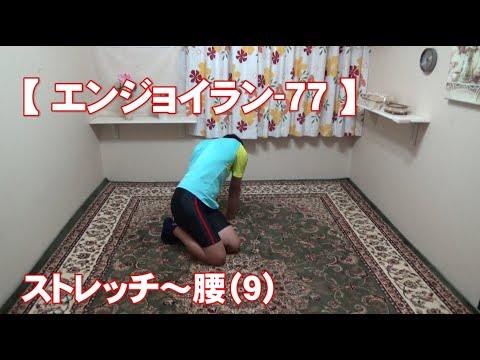#77 腰(9)/筋肉痛改善ストレッチ・身体ケア【エンジョイラン】