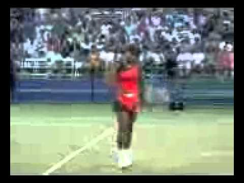 "Serena Williams ""Tennis Pon De Rock (Barbados)"""