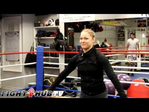 Ronda Rousey's Cartoon Crush On Vegeta From Dragon Ball Z video