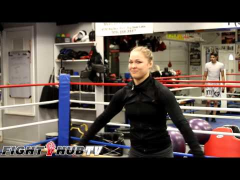 Ronda Rousey's cartoon crush on Vegeta from Dragon Ball Z