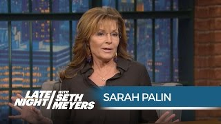 Sarah Palin's Surprising SNL 40 Story - Late Night with Seth Meyers