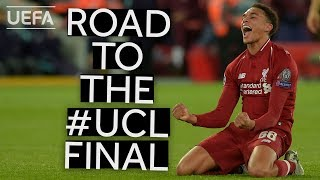 LIVERPOOL stars react to key moments of the Reds' season in their road to the #UCL Final!!