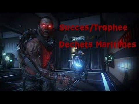 Succès/Trophée : Déchets Maritimes Call of Duty Advanced Warfare Exo Zombies Carrier